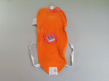 Puckababy cape d'emmaillotage rouge 0-3m