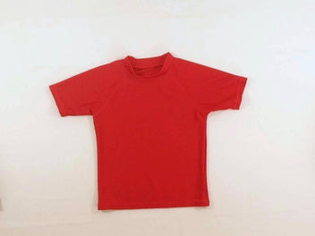 T-shirt m.c anti-Uv rouge
