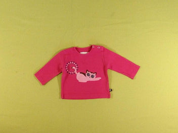 T-shirt m.l rose chat