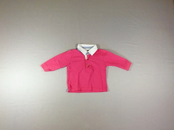 Polo m.l jersey rose