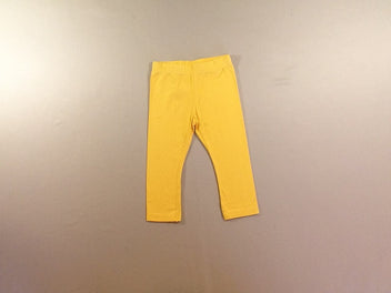 Legging court jaune