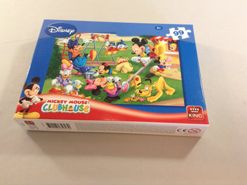 Puzzle mickey club house 99pcs, +5a