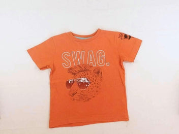 T-shirt m.c orange Swag