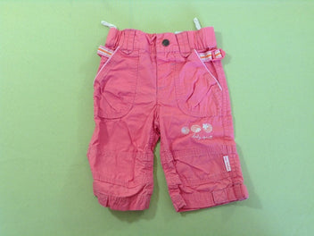 Pantalon rose corail