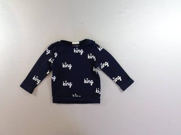 Sweat bleu marine king