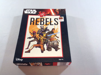 Puzzle Star Wars Rebel, 187pcs, +6a
