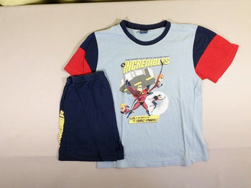 Pyjashort 2p bleu/rouge The Incredibles