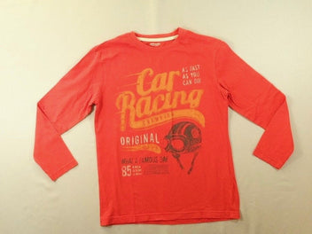 T-shirt m.l rouge corail Car Racing