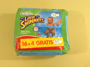 NEUF Huggies Little Swimmers 20 pièces, 3-4a (7-15kg)