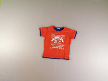 T-shirt m.c orange The strongest