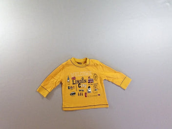 T-shirt m.l jaune London