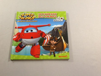 Le courage des Vikings en Norvège, Super Wings