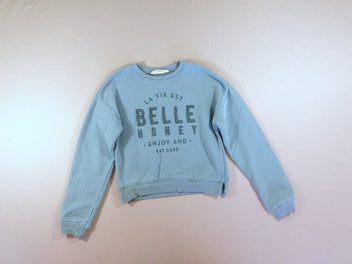 Sweat court bleu Belle