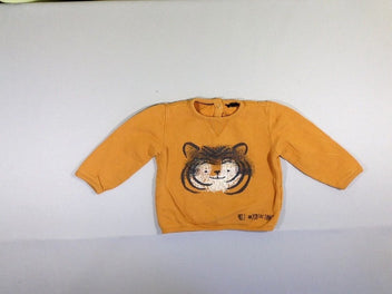 Sweat orange/brun tigre