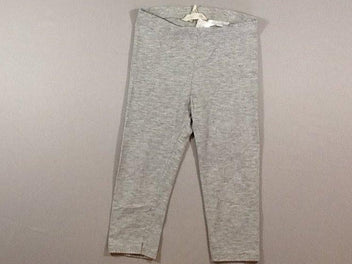 Legging gris chiné
