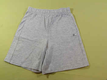 Short jersey gris chiné