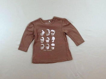 T-shirt m.l taupe muffins