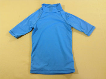 T-shirt m.c anti-uv bleu