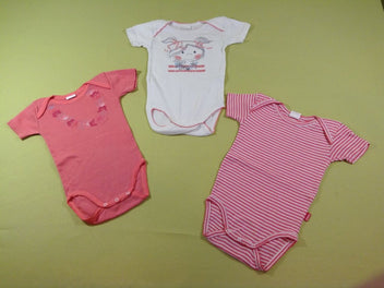 3 Body m.c blanc/rose fille
