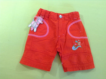 NEUF Short rouge trompette, Oilily