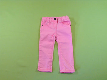 Jeans rose fluo