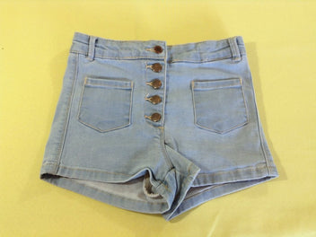 Short molleton denim clair