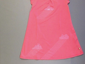 Robe m.c jersey rose fluo sequin