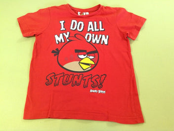 T-shirt m.c rouge Angry Birds