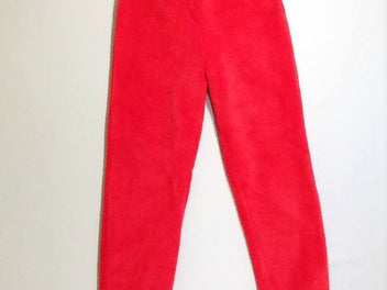 Pantalon softy rouge