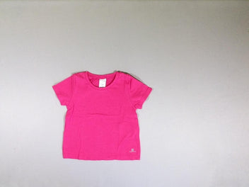 T-shirt m.c. rose fushia
