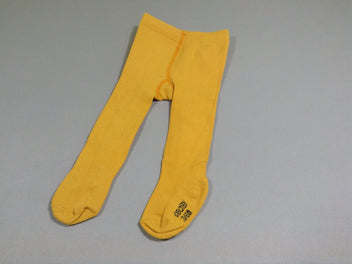 Collants jaune moutarde