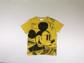 T-shirt m.c. moutarde Mickey