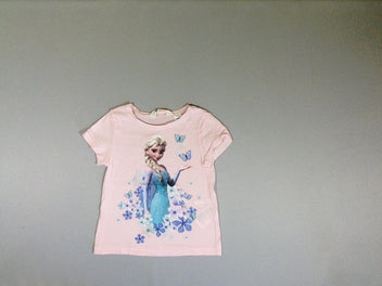 T-shirt m.c. rose reine des neiges