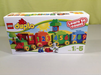Lego Duplo Train Learn and count 10558  1,5-5 ans
