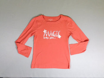 T-shirt m.l. orange Magic only you strass