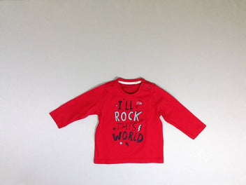 T-shirt m.l rouge I'll rock
