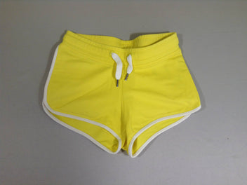 Short molleton jaune