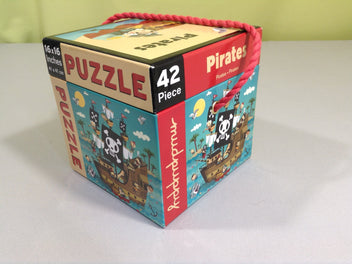 Puzzle Pirates 42 pcs +3a