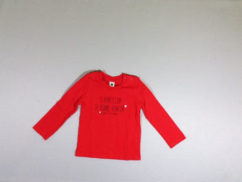 T-shirt m.l rouge echantillon