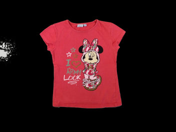 T-shirt m.c rouge Minnie