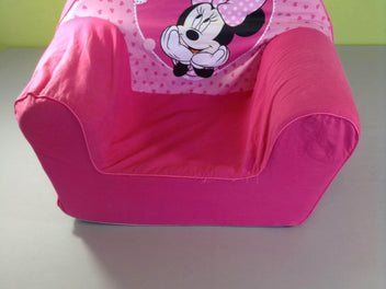 Fauteuil rose Minnie