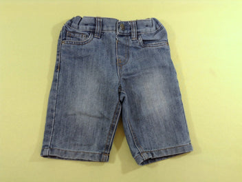 Bermuda en jean regular