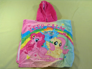 Poncho cape de bain My little pony