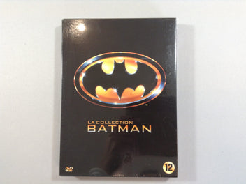NEUF La collection Batman, 4 dvds