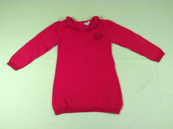 Robe-pull m.l rouge