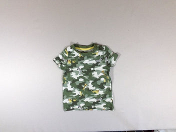 T-shirt m.c camouflage animaux