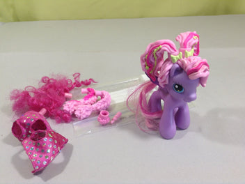 Figurine my little pony accessoires cheveux