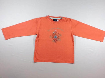 T-shirt m.l orange « Les contes de Buckingham »
