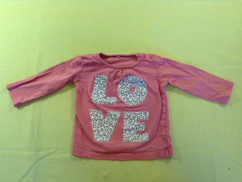 T-shirt m.l rose Love
