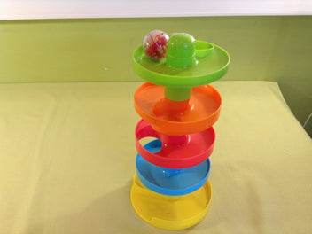 Playgo Busy Ball Tower, toboggan à balles, 5 niveaux